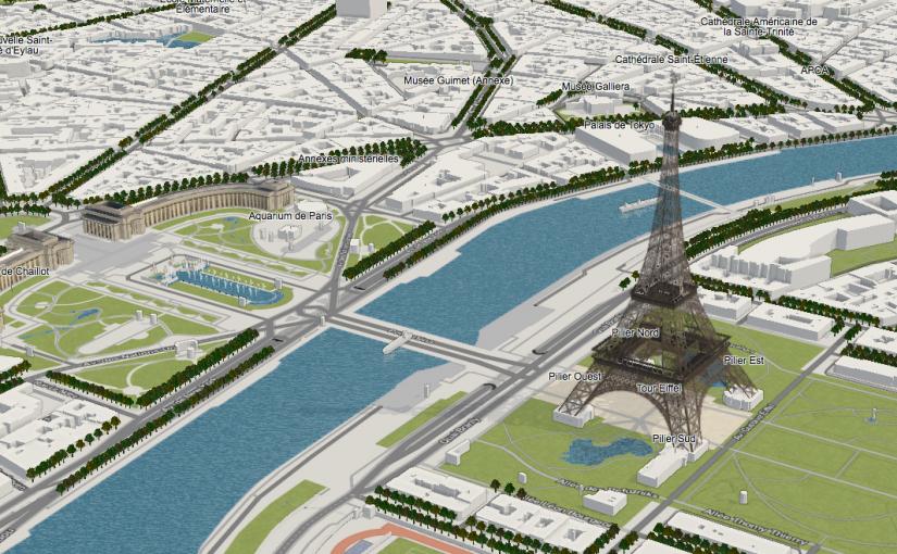 OpenStreetMap-3D-Karte