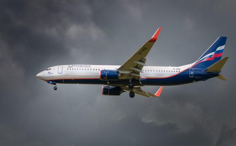 VP-BZB – Aeroflot Boeing 737