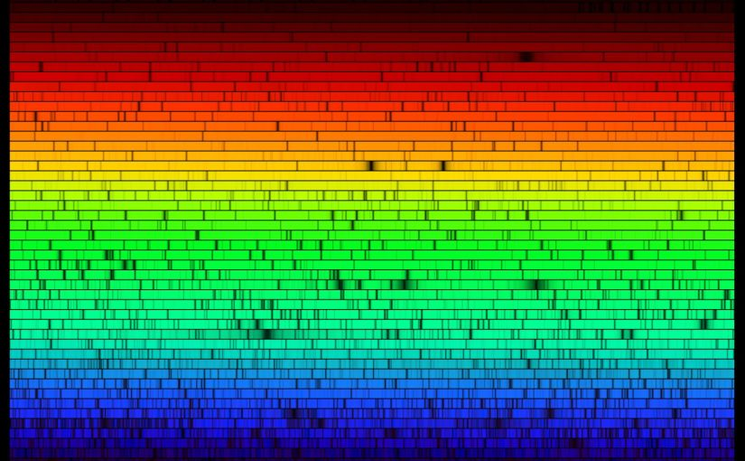 National Optical Astronomy Observatory: Solar spectrum