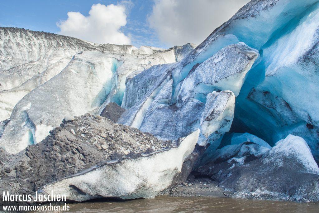 Gletscherzunge Sólheimajökull